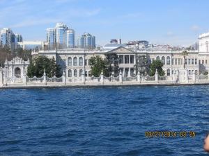 Palace on the Bosphorus Strait.