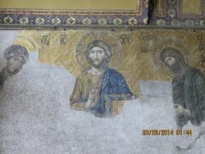 Mosaics in the St. Sophia