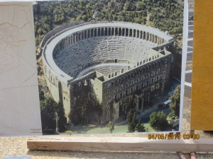 Plan of Restoration of Aspendos Roman Theatre