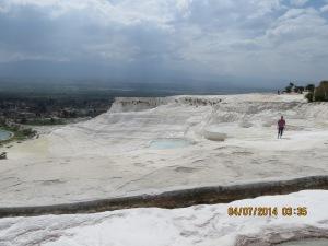 Thermal pools of Pammukkale