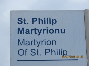 Apostle Philip preached in this city.