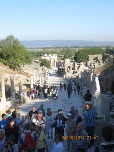 Arcadian Way at the ruins of Ephesus