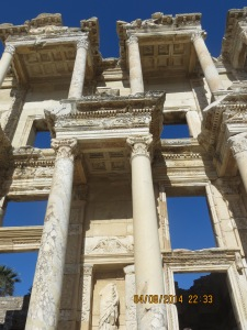 Pillars of the Library Celsus
