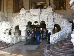 Entrance to GUM department store