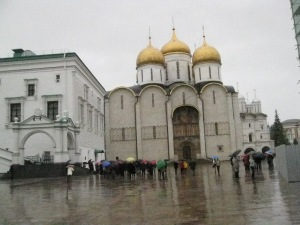 Cathedral where the coronation of the Tsars took place.