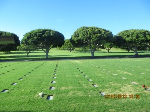 Punchbown National Cemetery.