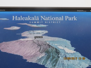 The Haleakala Crater, the world's largest inactive volcano, towers 10,032 feet above sea level.