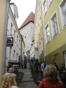 A passageway from the Upper 'Old' town to the Lower 'Old' town.