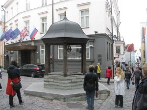 A square in the Lower 'Old' town.