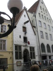 Many of the old buildings had numerous narrow windows.
