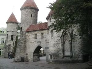 Entrance/exit to the 'old' town.