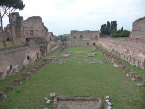 The ruins of Circus Maxima