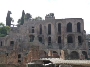 Ruins in the Roman Forum