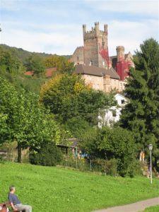 Cast;es along the Rhine