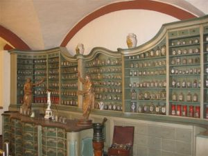 In the Pharmaceutical Museum