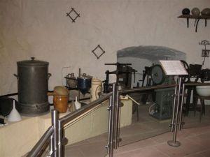Lab equipment in the Pharmaceutical Museum