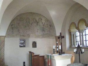Inside Wartburg Castle.
