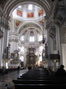 The Dom - destroyed and rebuilt three times.